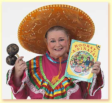 Photo of Senorita Margarita, a character created by Margaret Clauder.
